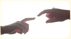 kochać znaczy dotykać